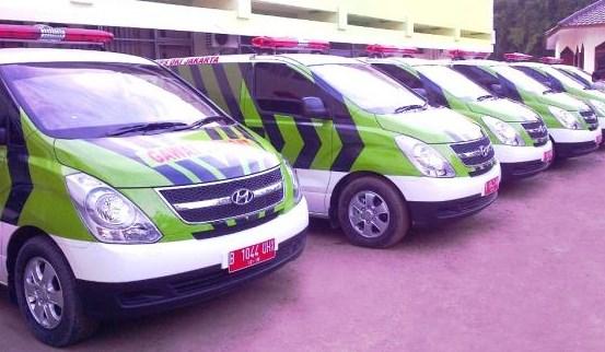 Cara Mendapatkan Ambulans Gratis Pemprov DKI Jakarta