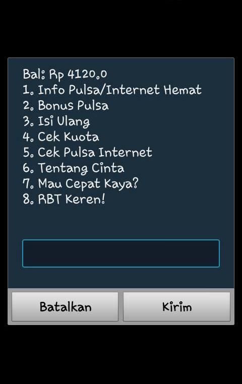 cek kuota internet