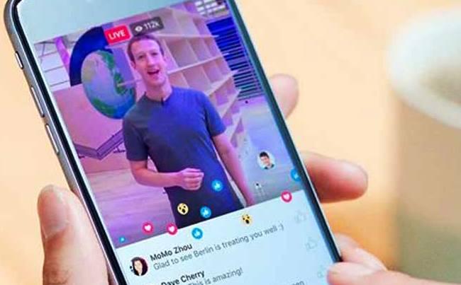 Cara Menghilangkan Komentar Siaran Langsung Facebook Pada Smartphone
